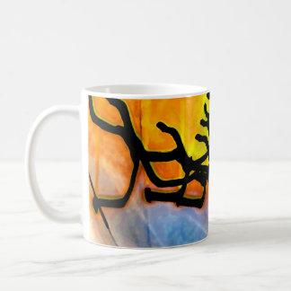 Echoes - digital art coffee mug