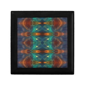 Echoes From the Depths.Abstract Digital Art Design Gift Box