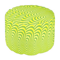 Echoes of Lemon and Lime Pouf