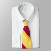Echoes of Sunset University Stripe Tie