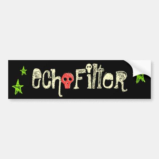 EchoFilter Bumper Sticker