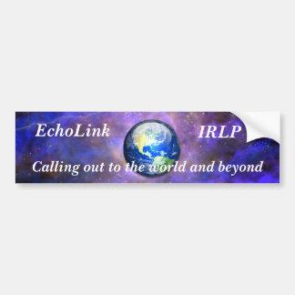 EchoLink Bumper Sticker Car Bumper Sticker
