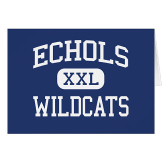 Echols Wildcats Middle Northport Alabama Greeting Cards