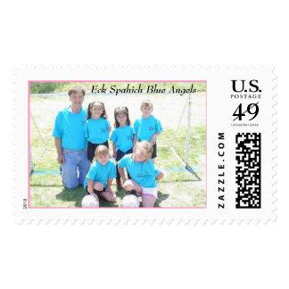Eck Spahich Blue Angels Postage Stamp