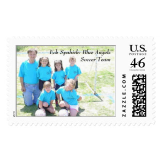Eck Spahich Blue Angels Soccer Team Stamps