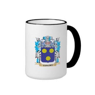 Eckert Coat of Arms - Family Crest Ringer Coffee Mug