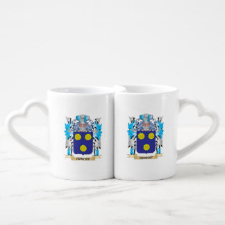 Eckert Coat of Arms - Family Crest Couples' Coffee Mug Set
