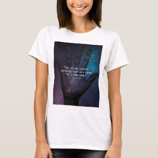 Eckhart Tolle Universe Quote T-Shirt