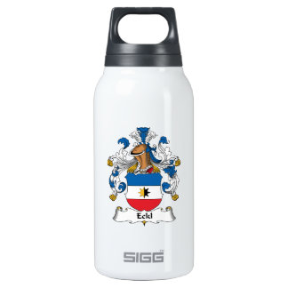 Eckl Family Crest 10 Oz Insulated SIGG Thermos Water Bottle