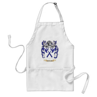 Eckles Coat of Arms Adult Apron