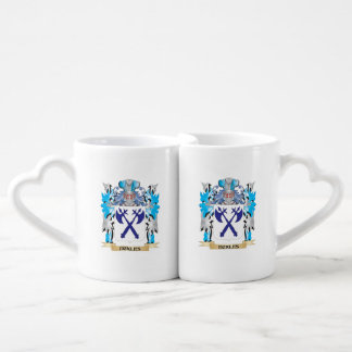 Eckles Coat of Arms - Family Crest Couples' Coffee Mug Set