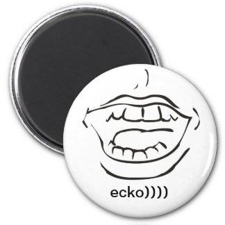 ecko)))) refrigerator magnets