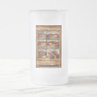 - Eclair - Eclairs de chocolate dulces Taza De Cristal