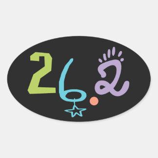Eclectic 26.2 Marathon Stickers