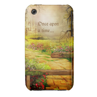 eclectic fairytale scene iPhone 3 cover