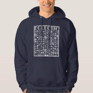 Eclectic Hooded Sweatshirt