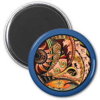 Eclectic Oceania Magnet