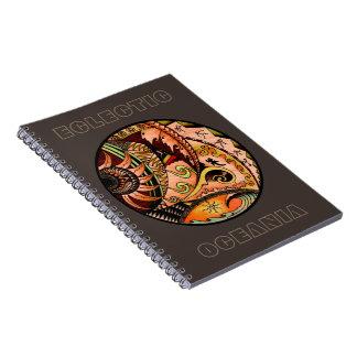 Eclectic Oceania Notebook