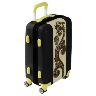 Eclectic Paisley Boho Gems Luggage