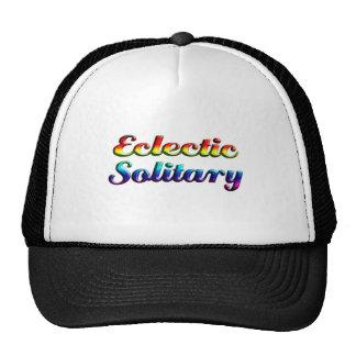 eclectic solitary trucker hat