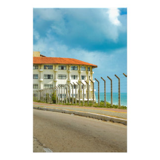 Eclectic Style Building Natal Brazil Stationery