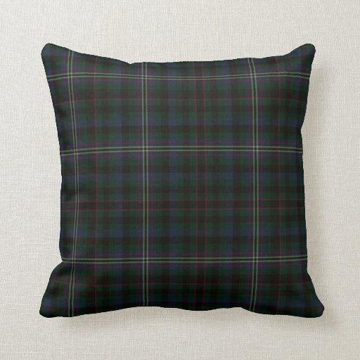 Eclectic Style Pillows : Eclectic Tartan Pillow Zazzle