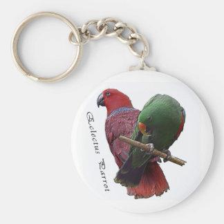 Eclectus Parrot 1 3D Keychain