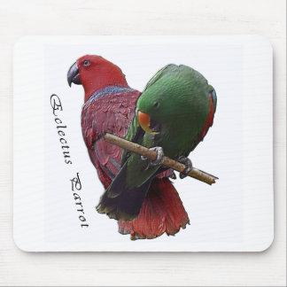 Eclectus Parrot 1 3D Mouse Pad
