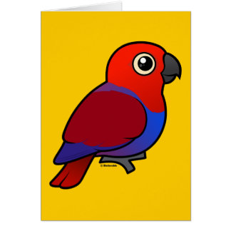 Eclectus Parrot female Card