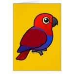 Eclectus Parrot female Stationery Note Card