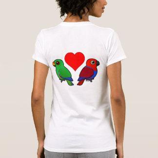 Eclectus Parrot Love T Shirts