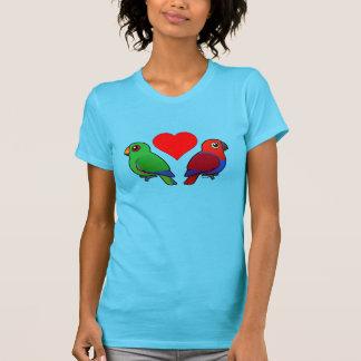 Eclectus Parrot Love Tee Shirt