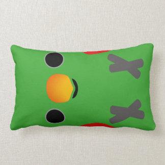 Eclectus Parrot (Male) Lumbar Pillow