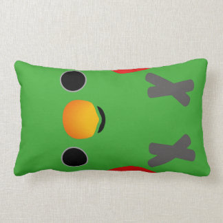 Eclectus Parrot (Male) Throw Pillow