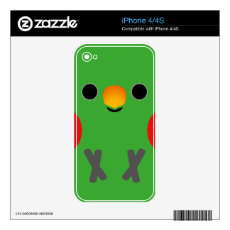 Eclectus Parrot (Male) Skin For The iPhone 4