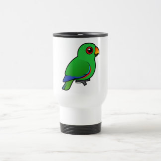 Eclectus Parrot male Travel Mug