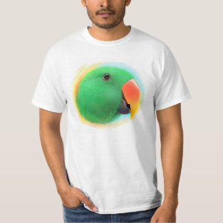 Eclectus parrot realistic painting T-Shirt