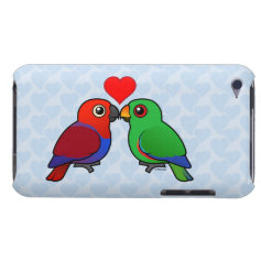 Eclectus Parrots in Love iPod Touch Cover