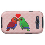 Eclectus Parrots in Love Samsung Galaxy S3 Cover