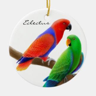 Eclectus Parrots Ornament