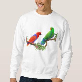 Eclectus Parrots Sweatshirt
