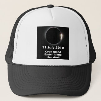 Eclipse 2010 - Easter Is., Cook Is., Hao Atoll Trucker Hat