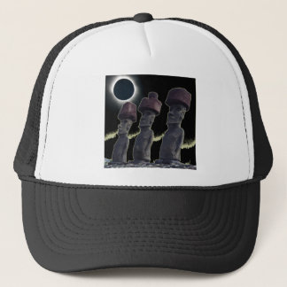 Eclipse 2010 Easter Island Trucker Hat