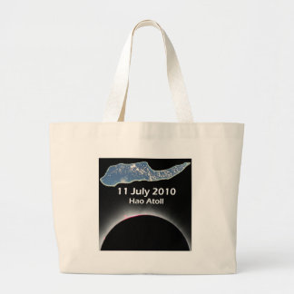 Eclipse 2010 Hao Atoll 2 Large Tote Bag
