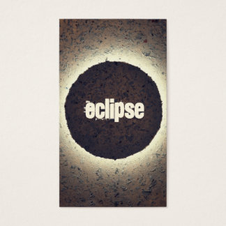 Eclipse | Abstract Art Business Card