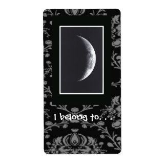 Eclipse Bookplate Label