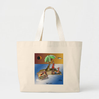 Eclipse Cartoon 9523 Large Tote Bag