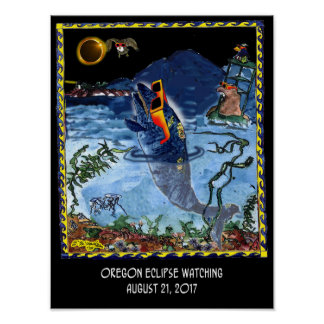 Eclipse Cartoon 9524 Poster