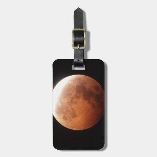 eclipse de la luna etiquetas para equipaje