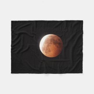 eclipse de la luna manta de forro polar